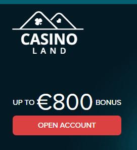 casinoland bonukset