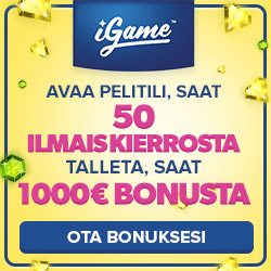 tallettaminen igame kasinolla
