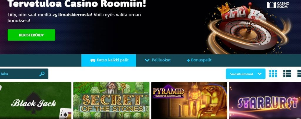 Casino Room pelit