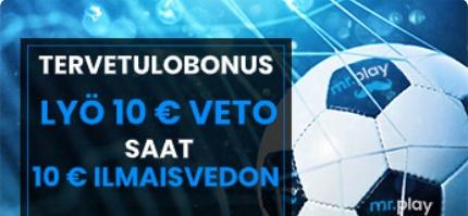 Mr Play Tervetulobonus