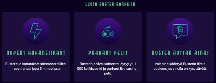 Buster Banks Casino Bonus